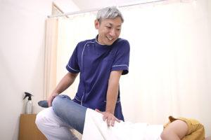 産後の整体施術